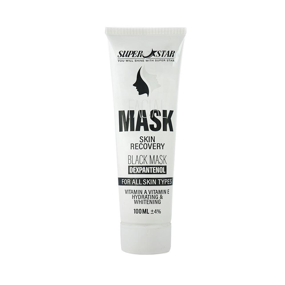 ماسک صورت سوپر استار مدل Black Mask حجم 100 میلی لیتر