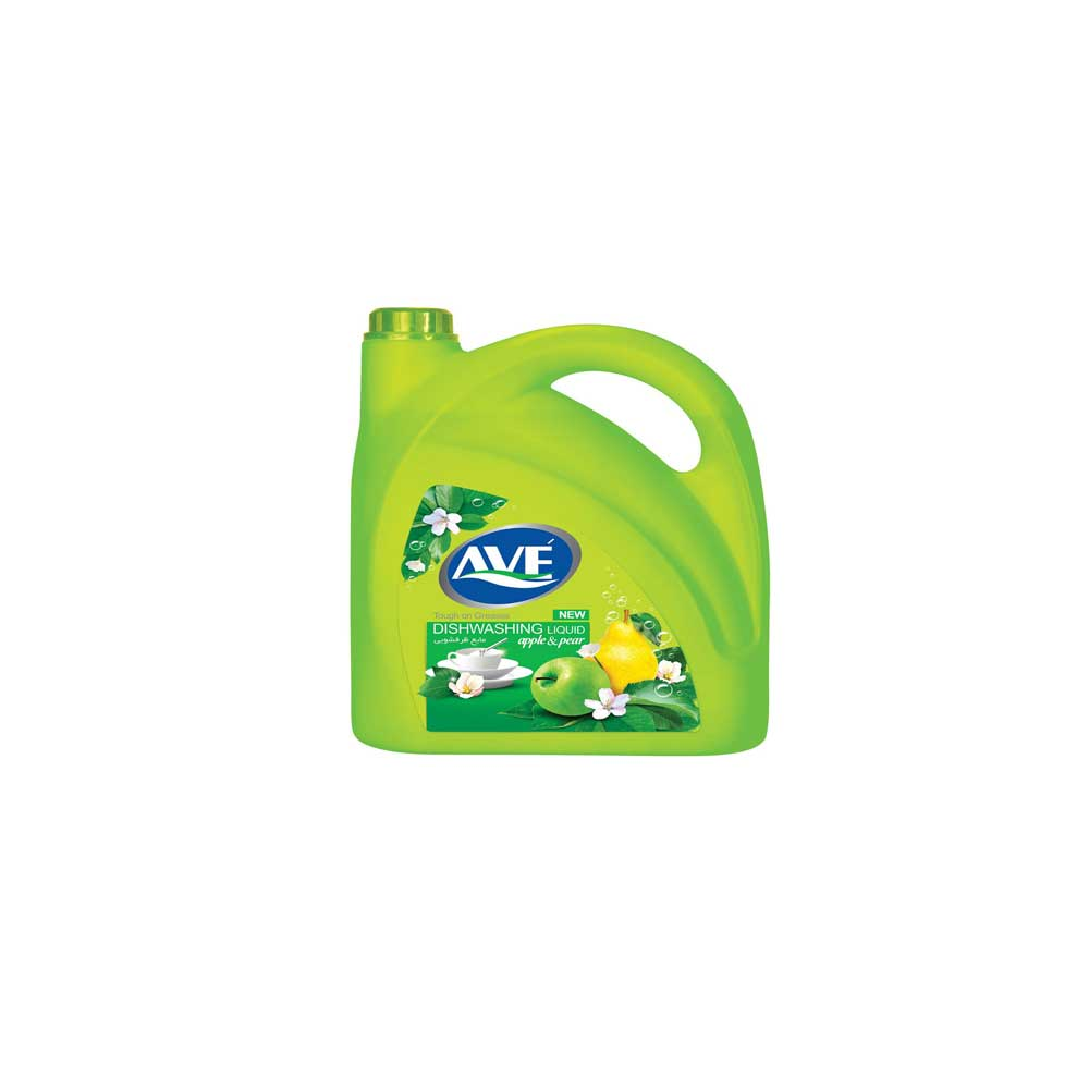 مایع ظرفشویی اوه مدل Green Apple And Pear مقدار 3750گرم