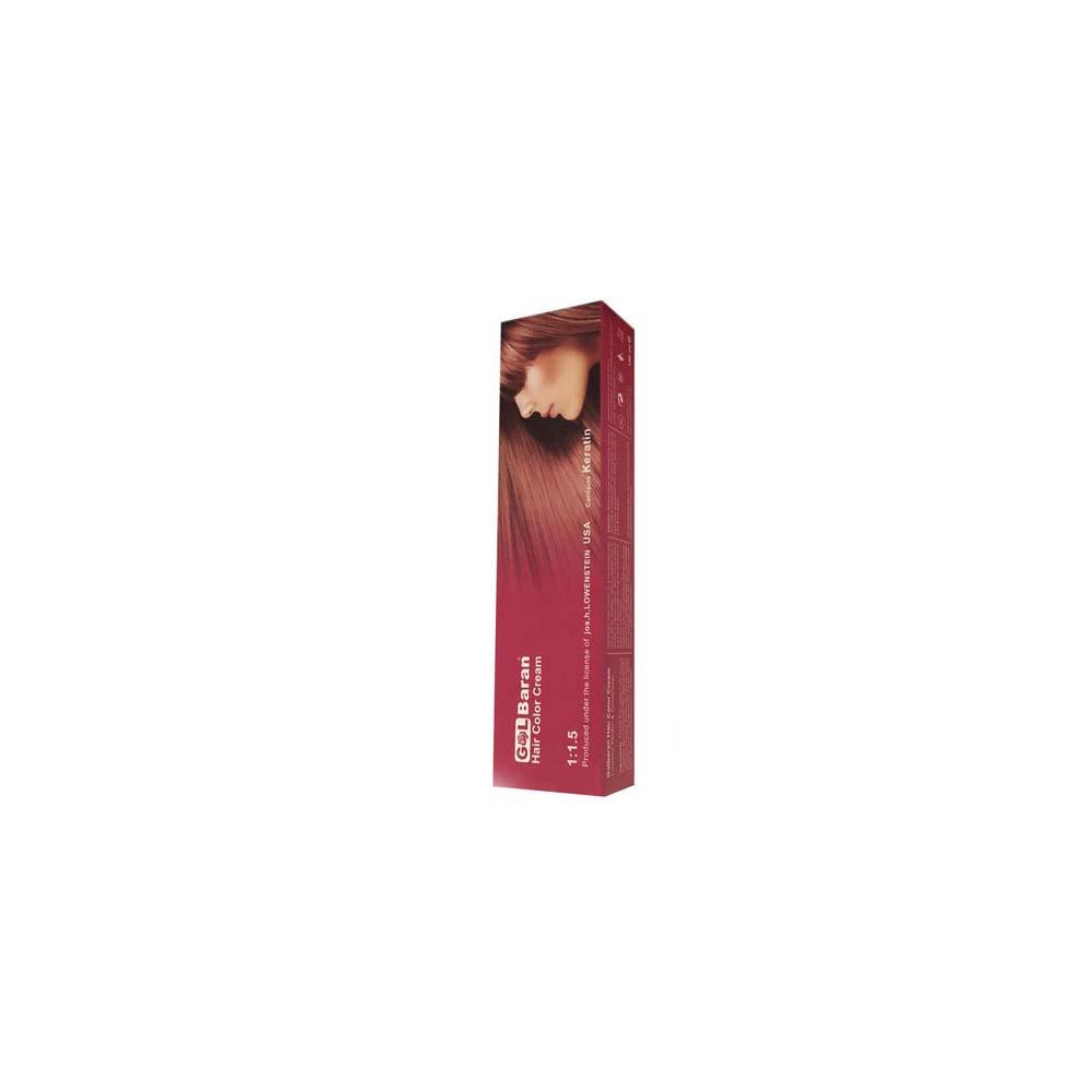 رنگ مو گلباران شماره 3،0 حجم 125 میلی لیتر رنگ قهوه ای طبیعی تیره